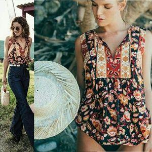 New spell designs lolita sleeveless blouse rust 70